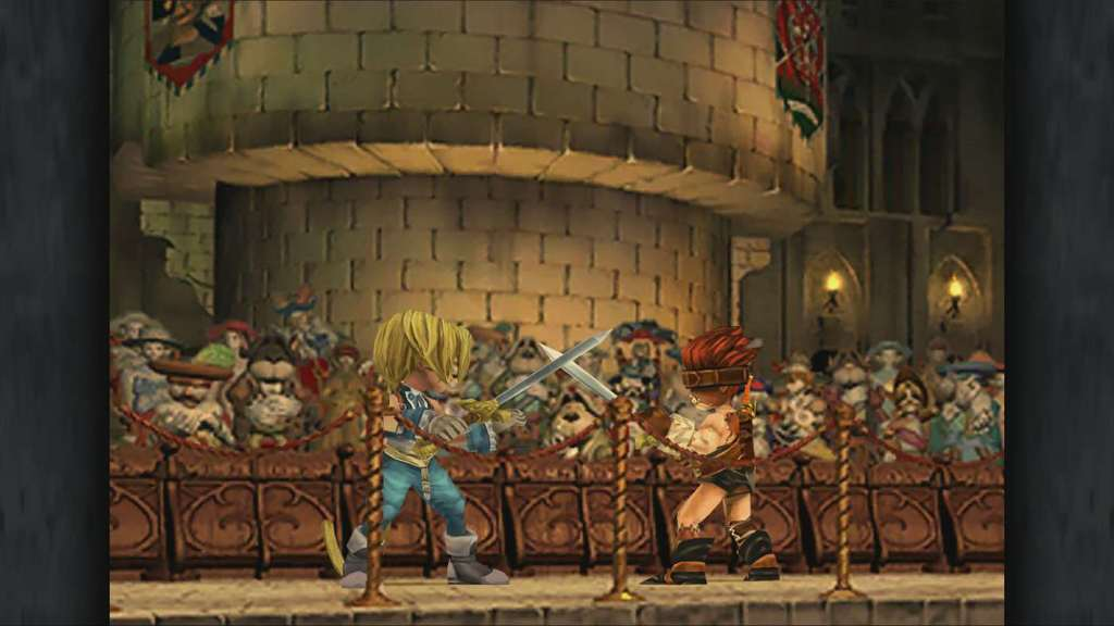 Final Fantasy 9 sword fight