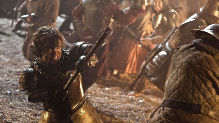 Tyrion fights in 'Blackwater'