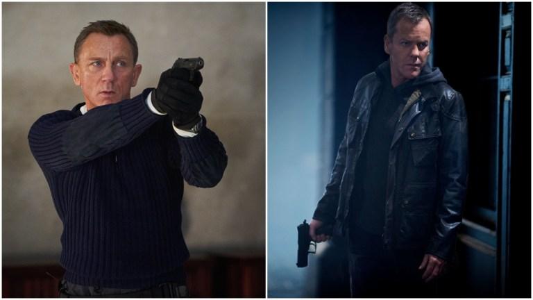 James Bond and Jack Bauer