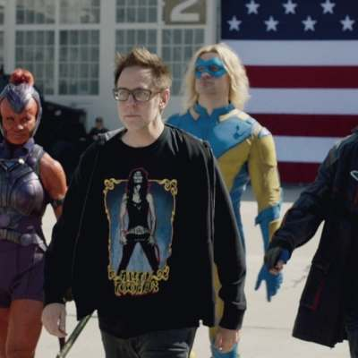 James Gunn and The Suicide Squad Cast