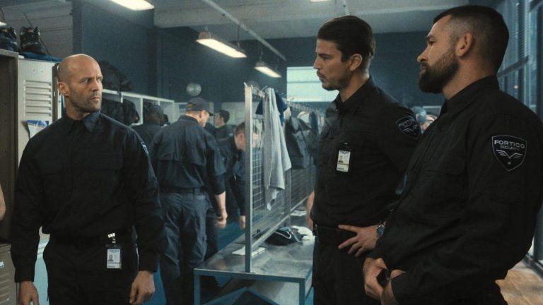 Jason Statham and Josh Harnett in Wrath of Man