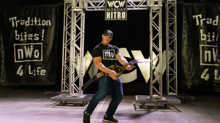 John Cena in the Firefly Funhouse Match