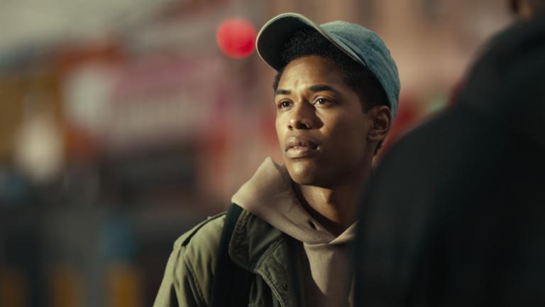 Kelvin Harrison Jr in Netflix film Monster