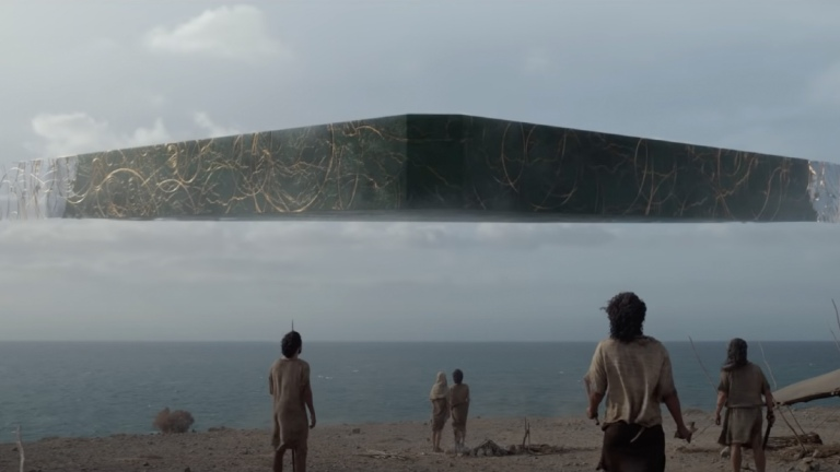 A ship in the trailer for Marvel's Eternals