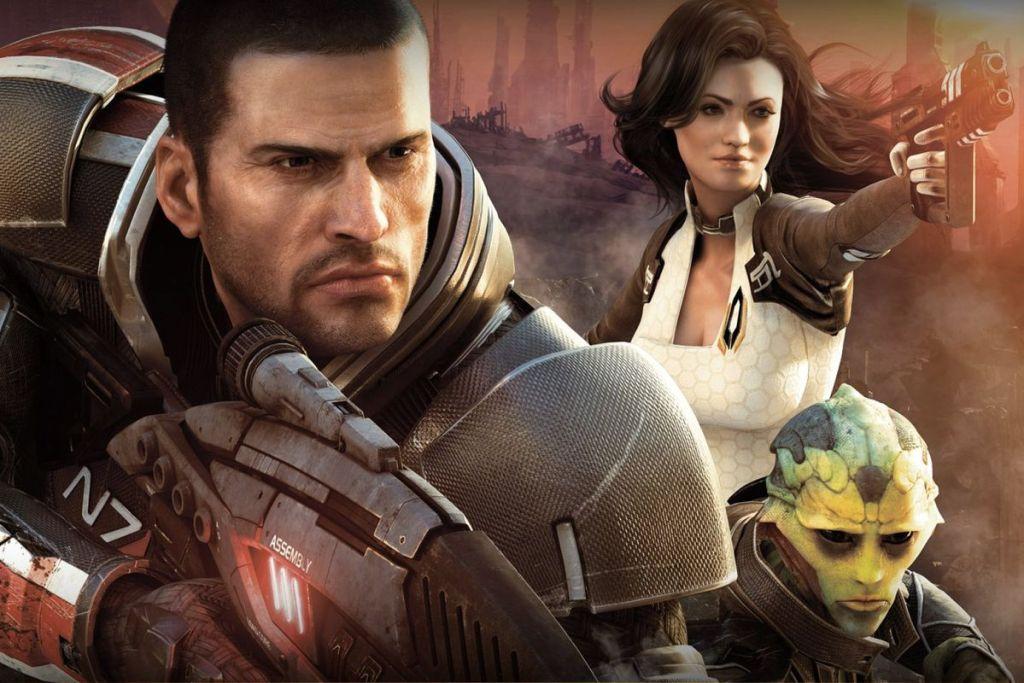 Mass Effect 2 cover art