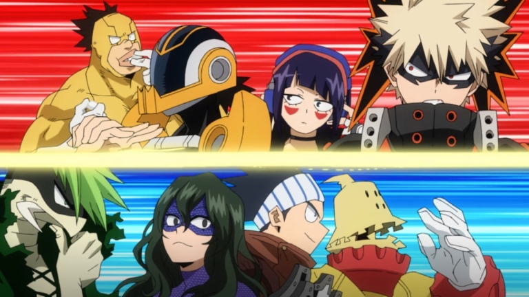 My Hero Academia Season 5 Episode 9 Match 4 Teams
