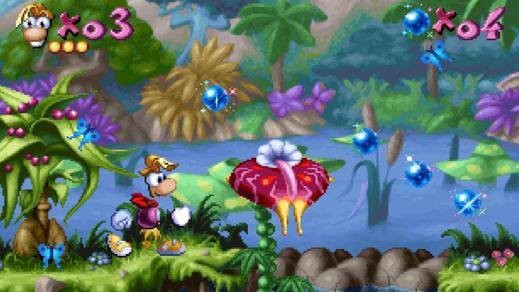Rayman PlayStation One
