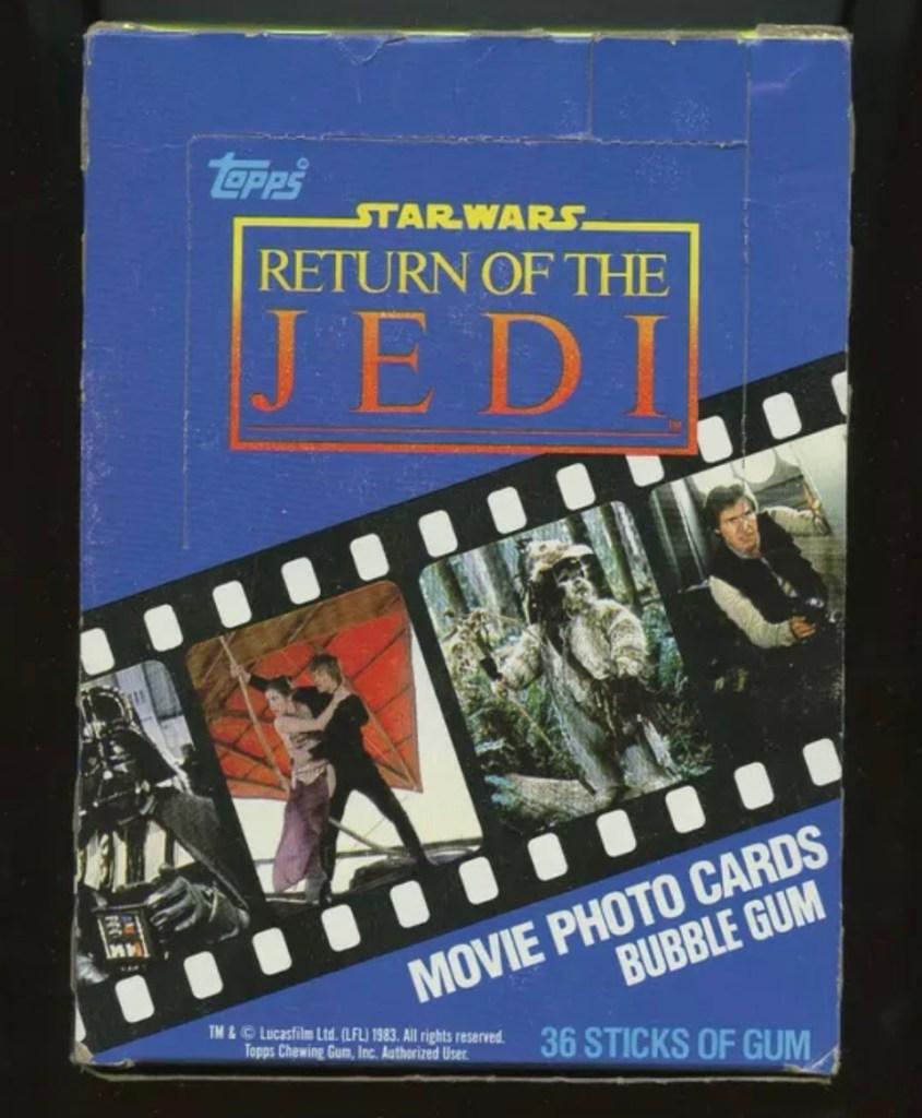 Star Wars Return of the Jedi Cards