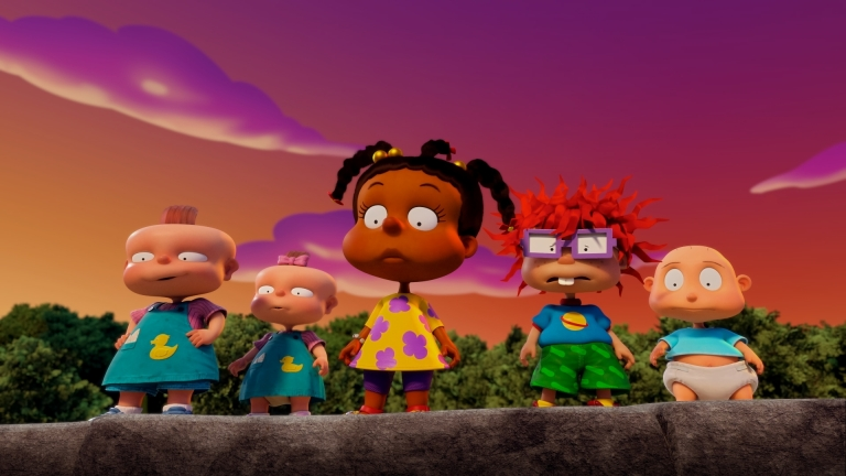 The babies of the Paramount+ series RUGRATS