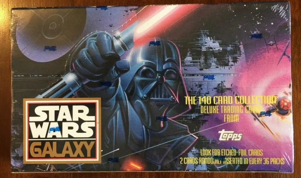 1993 Star Wars Galaxy Unopened Box