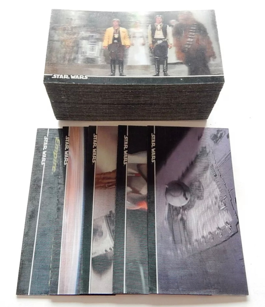 Star Wars 3Di Widevision Card Set