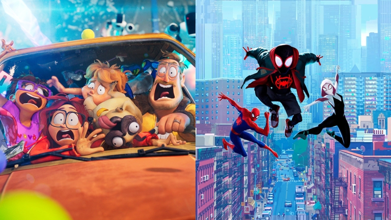 The Mitchells vs. The Machines and Into the Spider-Verse