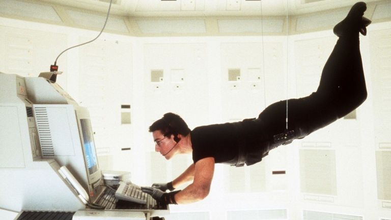 Tom Cruise in Mission Impossible Vault