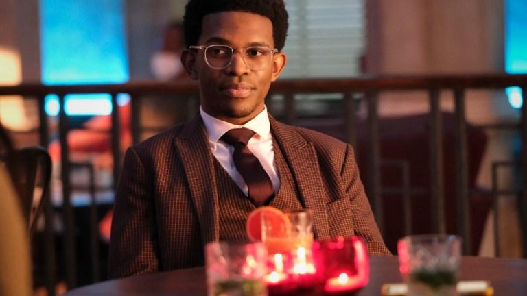 Camrus Johnson as Luke Fox in Batwoman Season 2