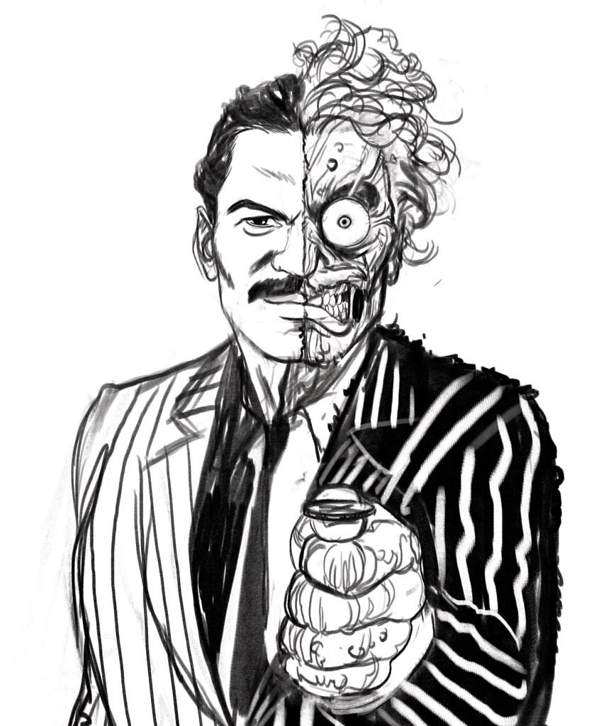 Billy Dee Williams dans le rôle de Two-Face