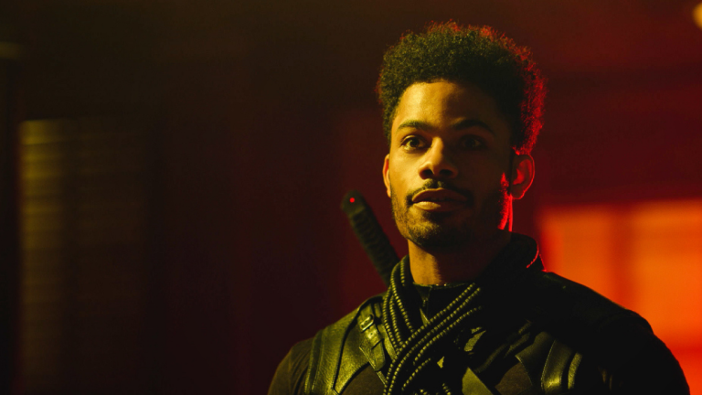 Jordan Calloway as Khalil in Black Lightning Season 4