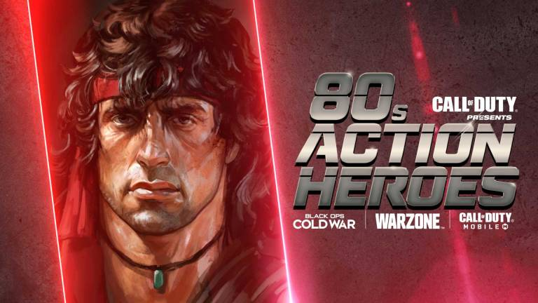 Call of Duty Warzone 80s Action Heroes
