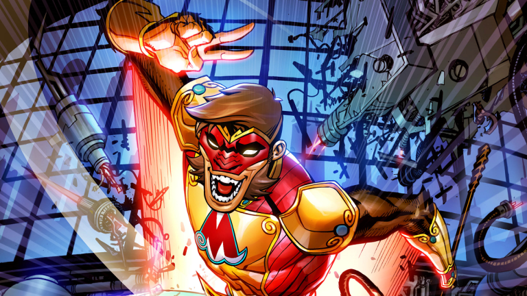 The Monkey Prince in DC Festival of Heroes: The Asian Superhero Celebration