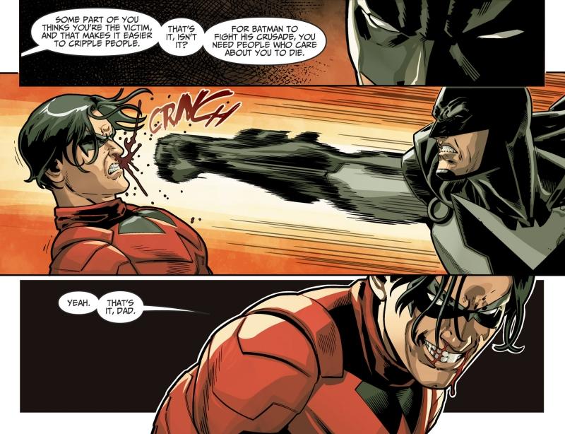 Damian Wayne contre Batman
