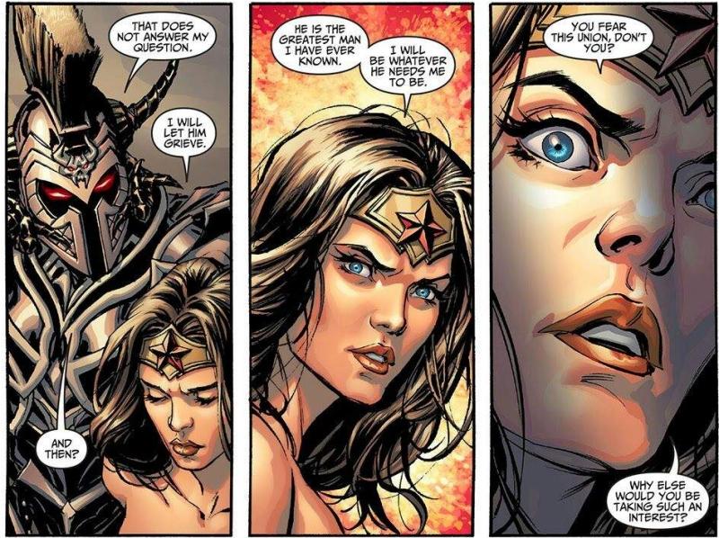Injustice Wonder Woman et Ares