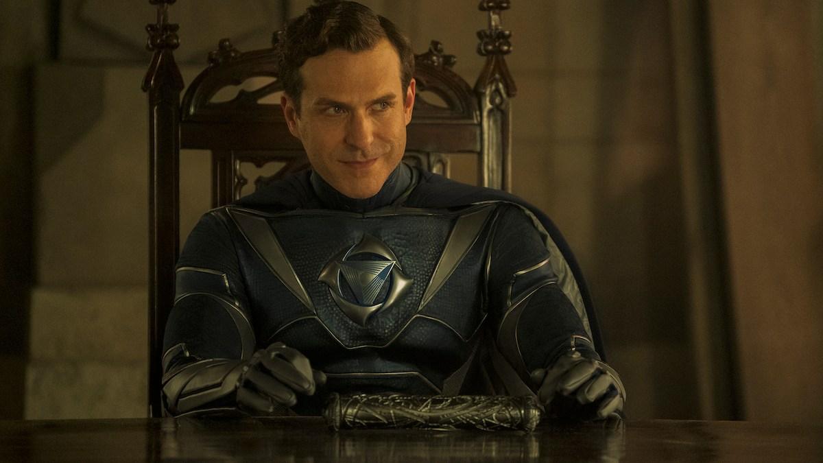 Jupiter's Legacy - David Julian Hirsh as Blue Bolt