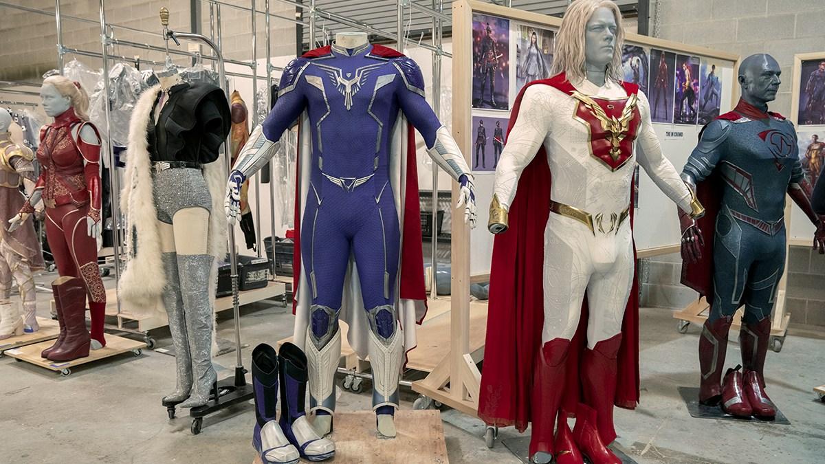 Jupiter's Legacy costumes