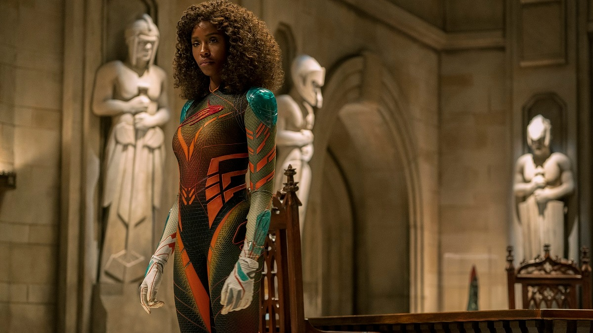 Tenika Davis as Petra Small in Jupiter's Legacy on Netflix