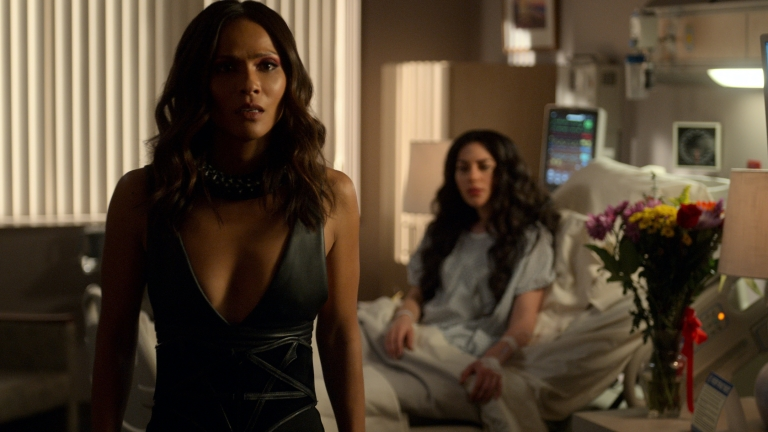 Mazikeen and Eve try to work out their differences regarding Eve's mortality.