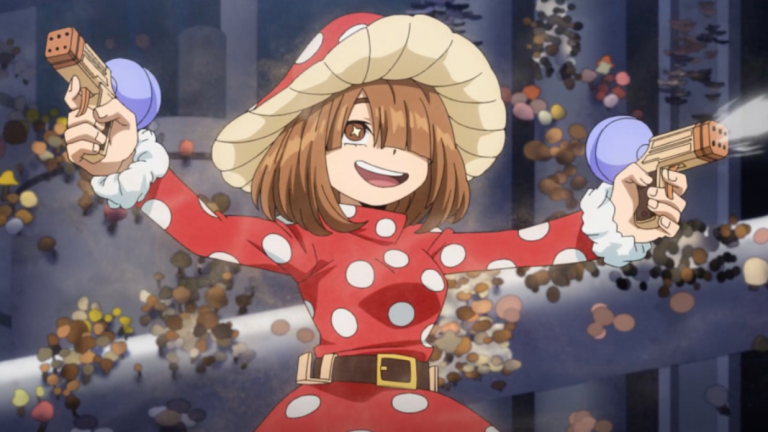 Mushroom Girl in My Hero Academia Season 5 Episode 6