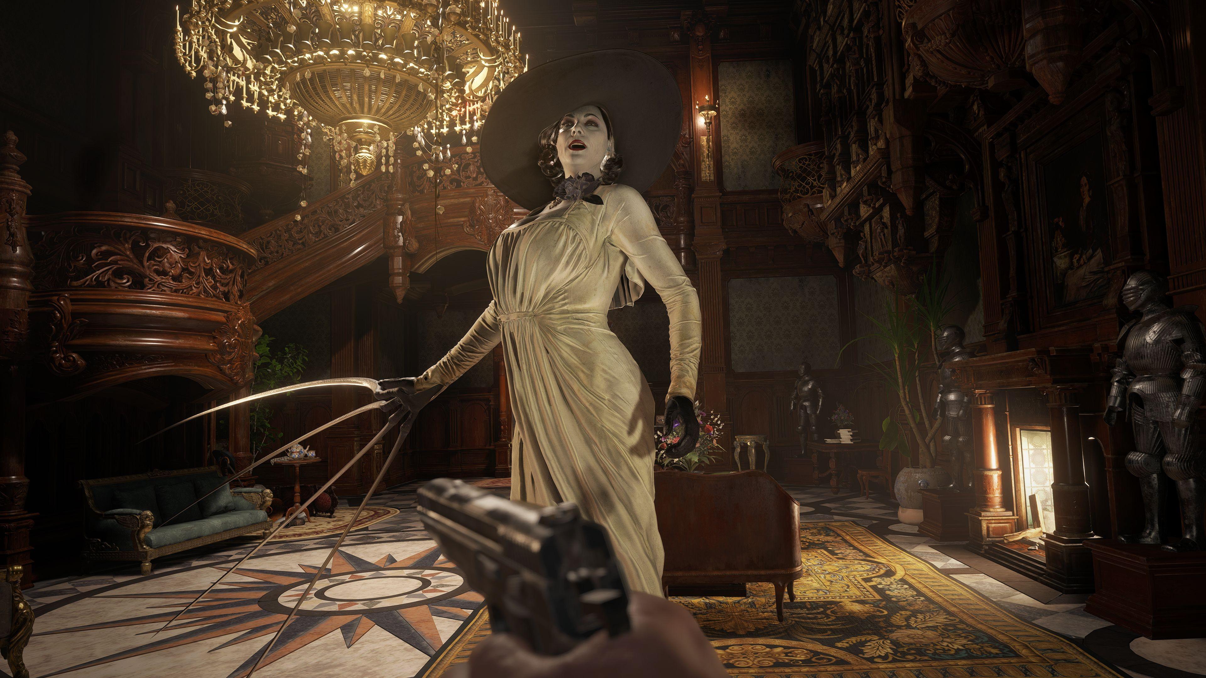 Resident Evil Village DLC Should Let Us Play as Lady Dimitrescu