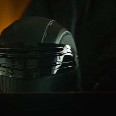 Snake Eyes mask in Snake Eyes: G.I. Joe Origins.