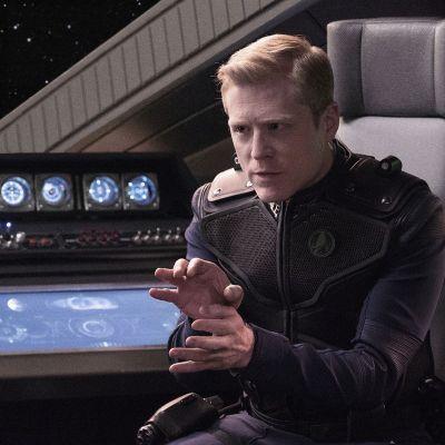 Anthony Rapp as Stamets in Star Trek: Discovery