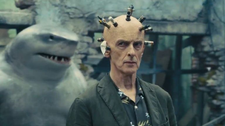 Peter Capaldi as The Thinker in The Suicide Squad
