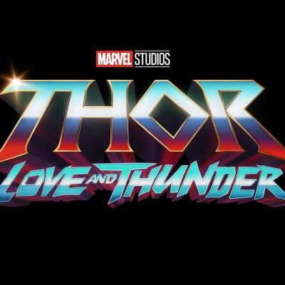 Thor: Love and Thunder Marvel Studios Logo