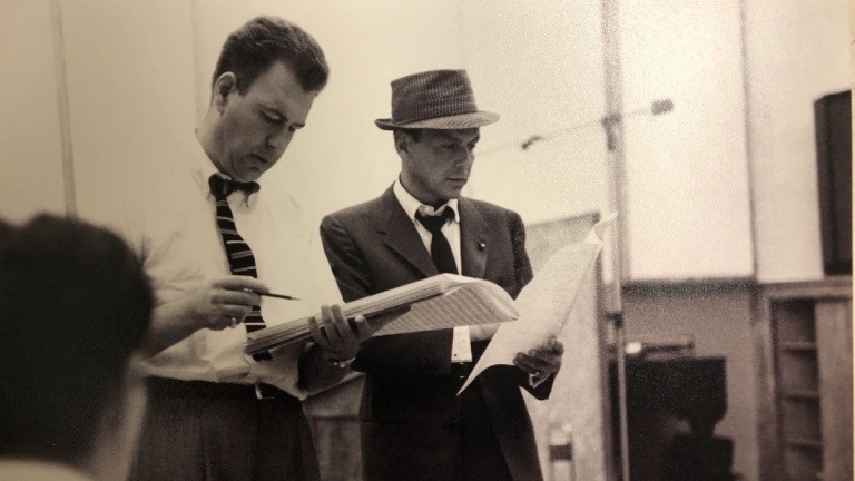 Frank Sinatra and Nelson Riddle Recording