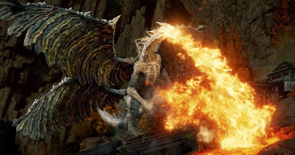 Elden Ring Dragon Boss