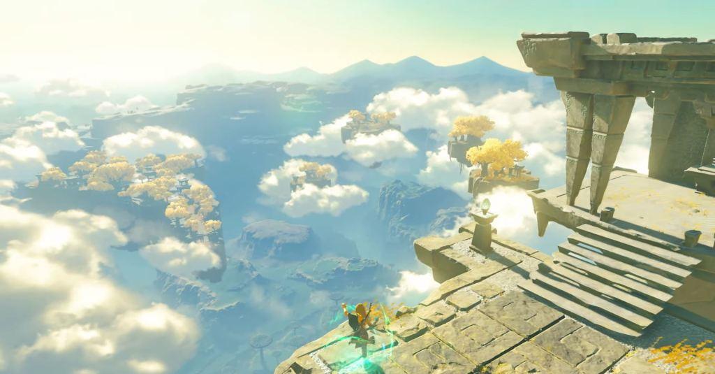The Legend of Zelda Breath of the Wild 2 trailer backwards speech