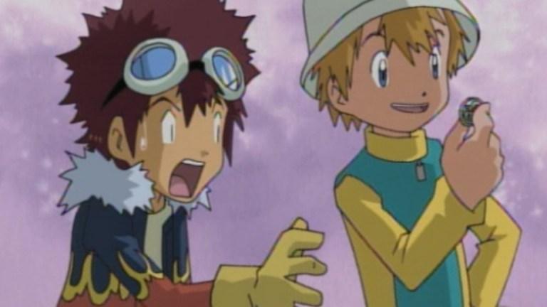 Digimon Season Two TK and Davis Leader