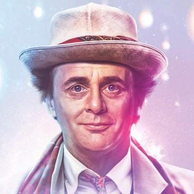 Doctor Who Season 24 cover art Sylvester McCoy
