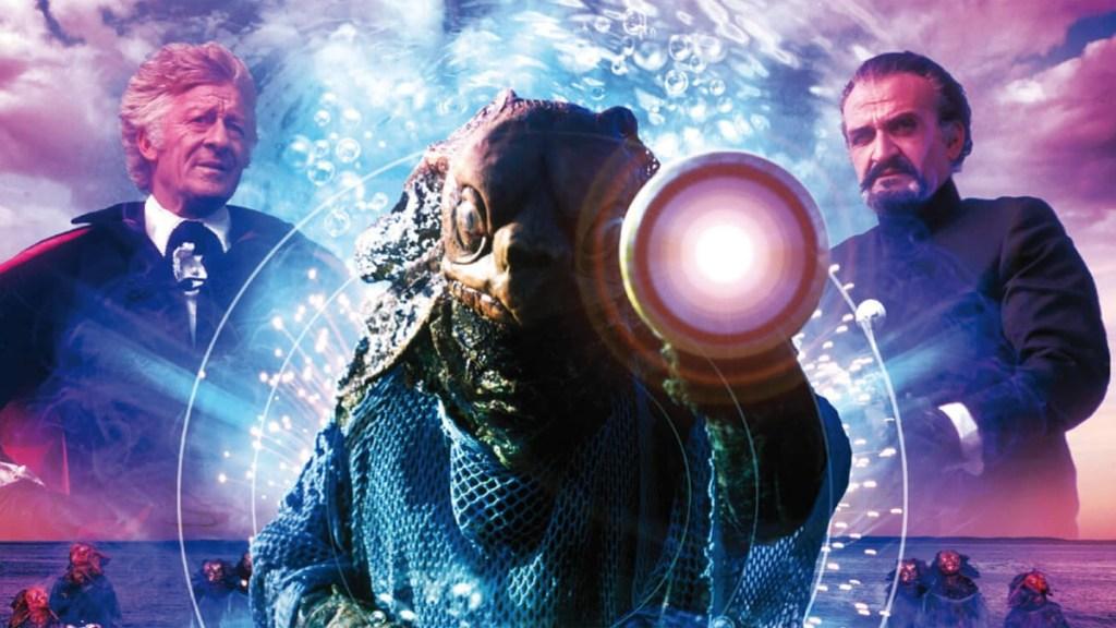 Se cortó la cubierta del DVD de Doctor Who The Sea Devils