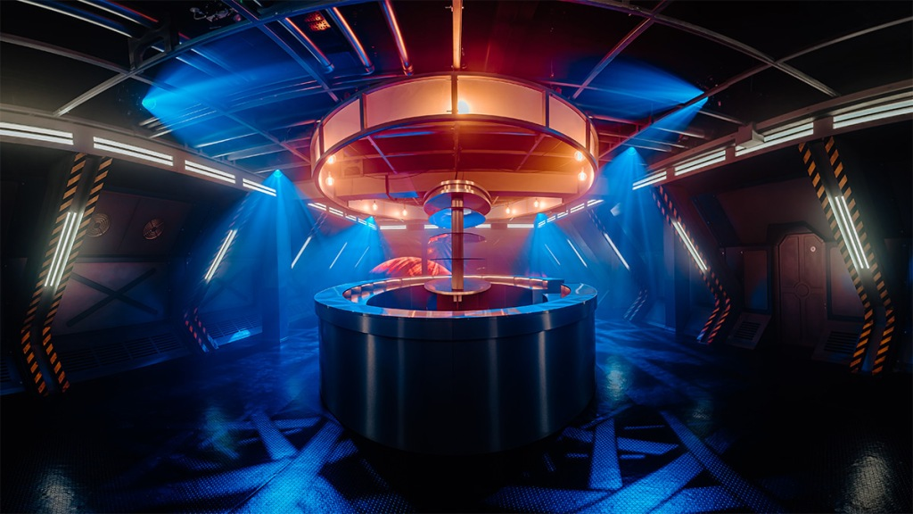 Doctor Who Time Fracture TARDIS console