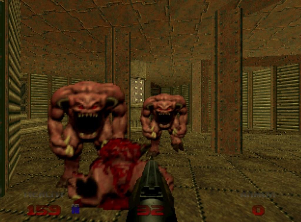 Doom 64 gameplay