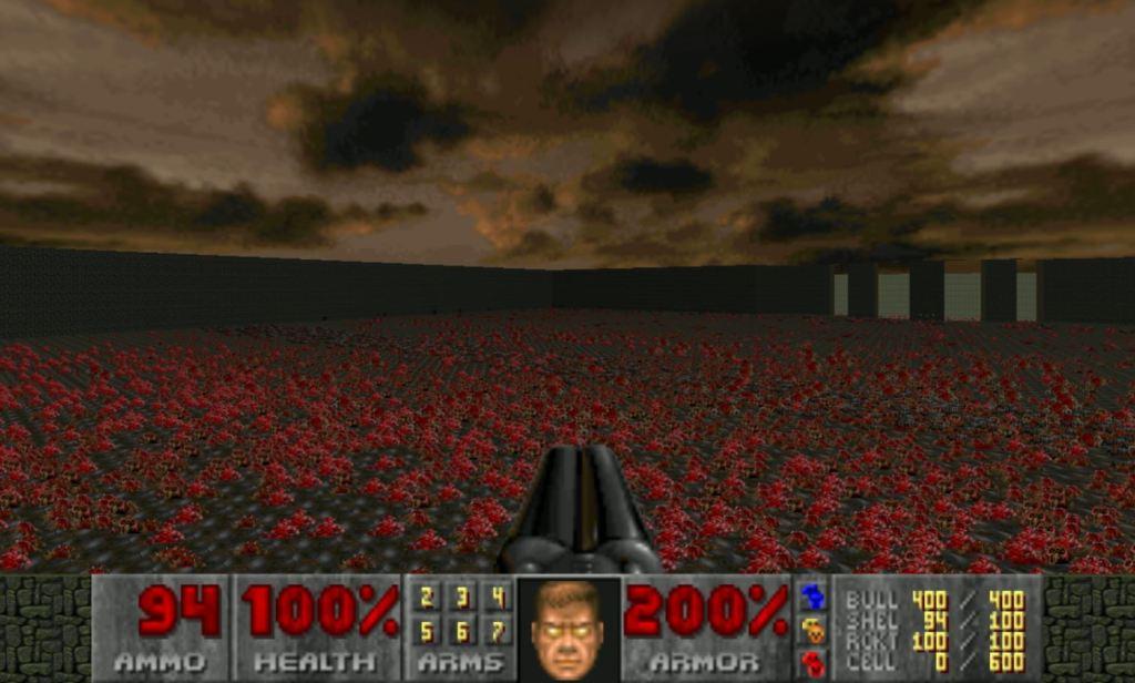Doom invincibility cheat code