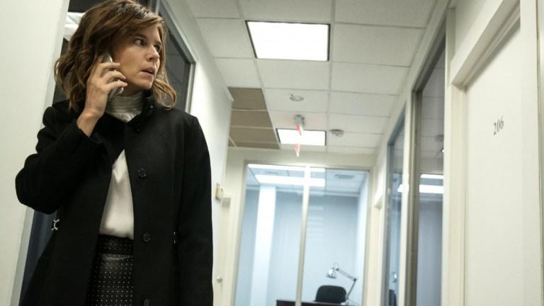 Katja Herbers as Dr. Kristen Bouchard in Evil season 2
