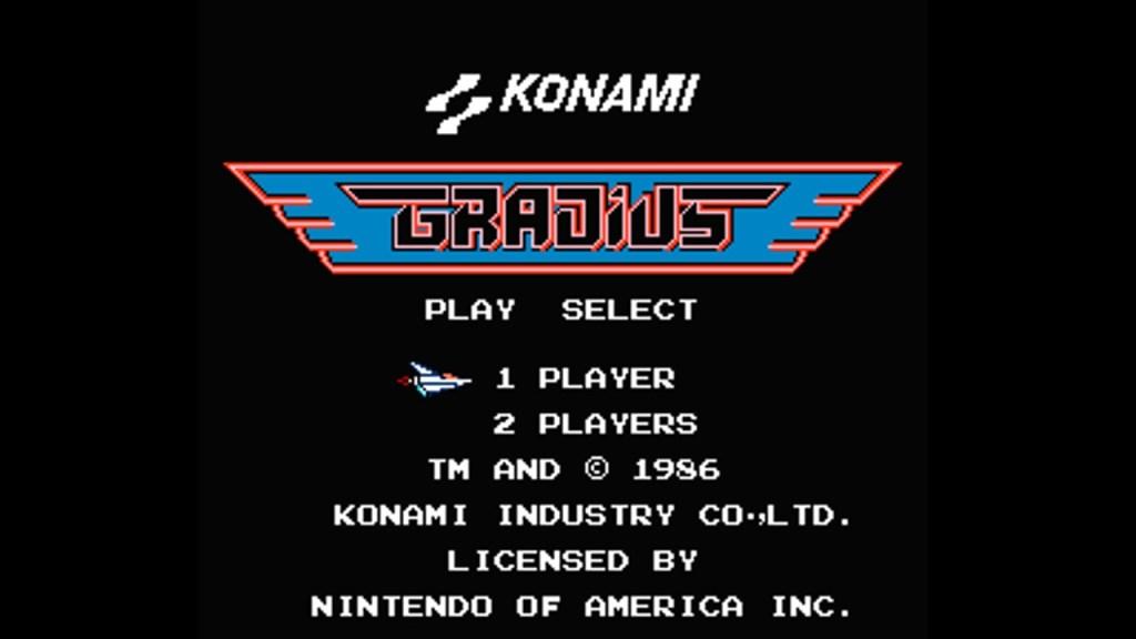 Gradius Konami Cheat Code