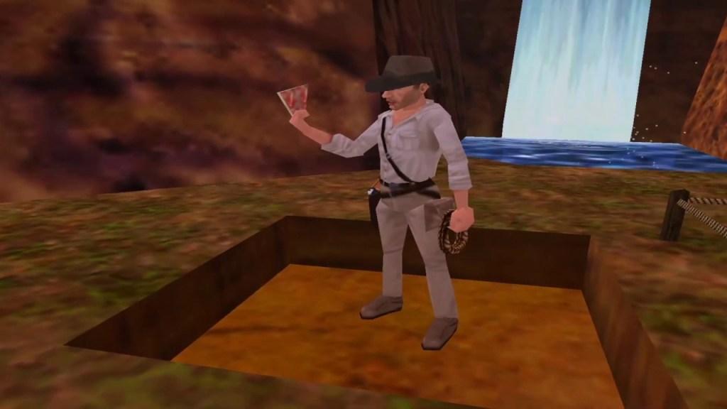 Indiana Jones and the Infernal machine N64