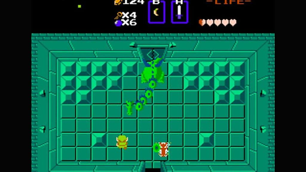 The Legend of Zelda Second Quest cheat code
