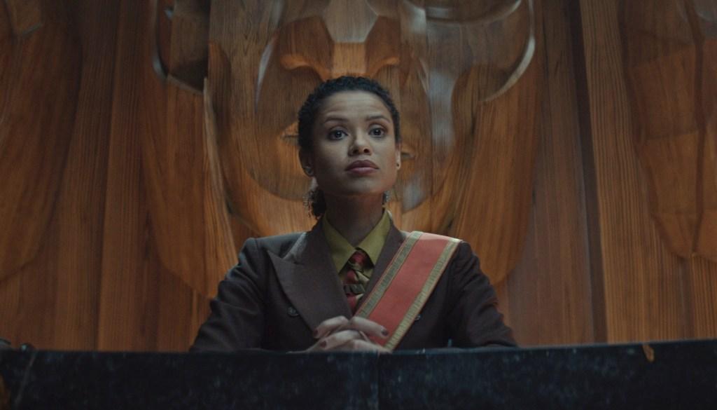Gugu Mbatha-Raw as Ravonna Renslayer in Loki