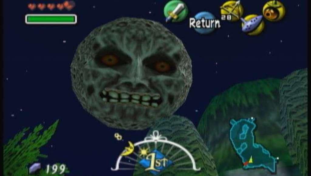 The Legend of Zelda Majora's Mask N64