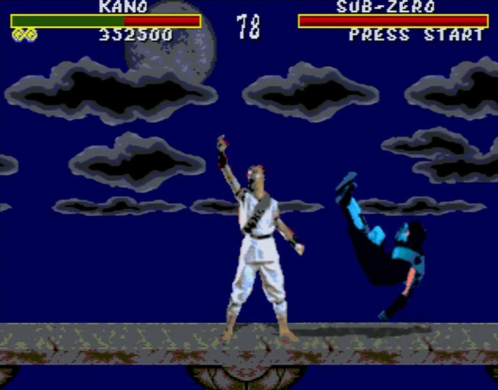 Mortal Kombat Sega Genesis blood cheat code